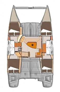 Rental yacht Split - Fountaine Pajot Lipari 41 - 4 + 2 cab. on SamBoat