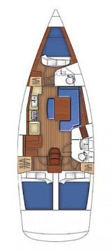 Rental Sailboat in Göcek - Bénéteau Oceanis 40
