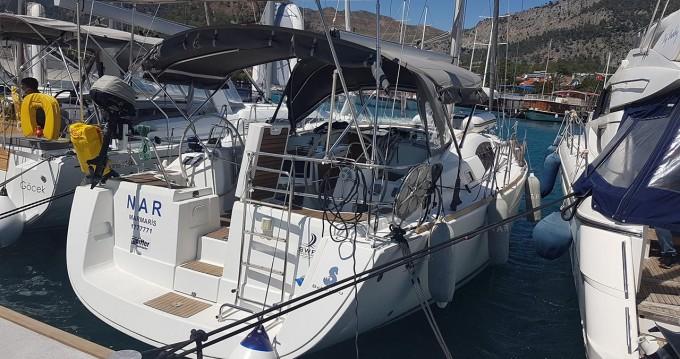 Boat rental Göcek cheap Oceanis 40