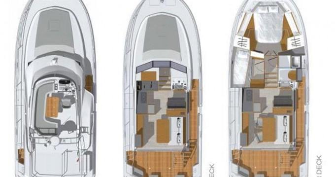 Rental Motorboat in Pula - Bénéteau Swift Trawler 35