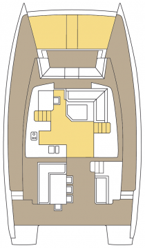Rental yacht Marsh Harbour - Catana Bali 4.5 - 4 + 2 cab. on SamBoat
