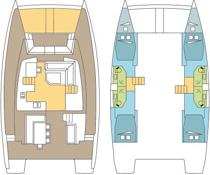 Rental yacht La Paz - Catana Bali 4.5 - 4 + 2 cab. on SamBoat