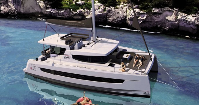 Hire Catamaran with or without skipper Catana Nassau