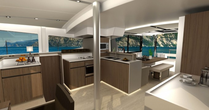 Rental Catamaran in Palma de Mallorca - Catana Bali 4.8 - 6 cab.
