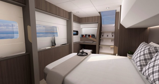 Rental yacht Le Marin - Catana Bali 4.8 - 6 cab. on SamBoat
