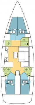 Rental Sailboat in Zaton - Bavaria Cruiser 46