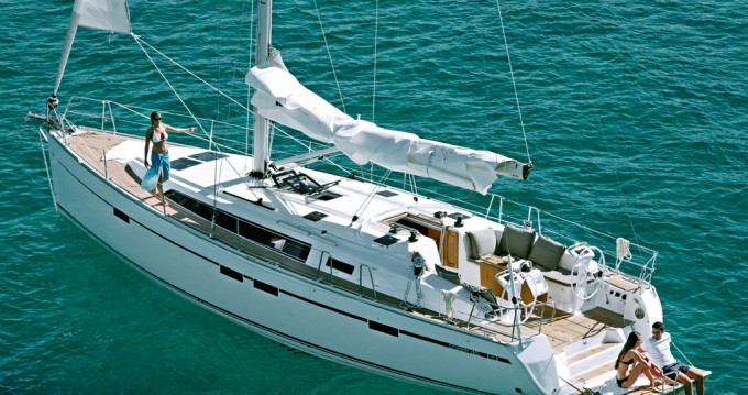Bavaria Cruiser 46 between personal and professional Praslin Island