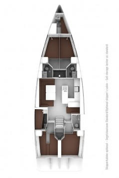 Bavaria Cruiser 56 between personal and professional Saint-Mandrier-sur-Mer