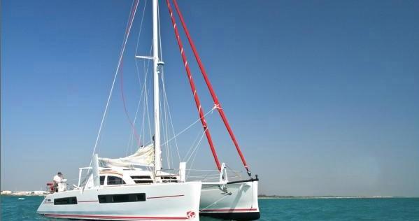 Boat rental Scrub Island cheap Catana 47 Ocean Class