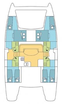 Rental Catamaran in Scrub Island - Catana Catana 47 Ocean Class
