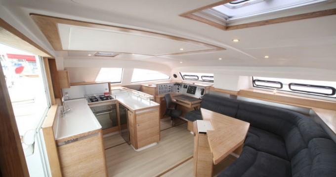 Boat rental Raiatea cheap Catana 55