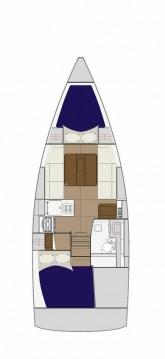 Boat rental Zaton cheap Dufour 310