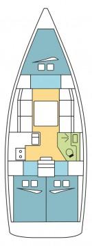 Rental Sailboat in Saint-Mandrier-sur-Mer - Dufour Dufour 360 Grand Large