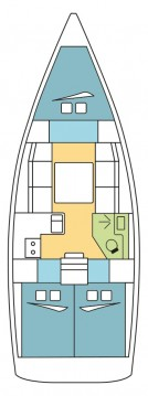 Boat rental Dufour Dufour 360 Grand Large in Olbia on Samboat