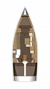 Boat rental Marina di Portorosa cheap Dufour 382 Grand Large
