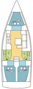 Rent a Dufour Dufour 382 Grand Large Zaton