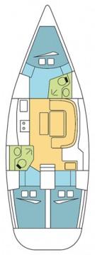 Boat rental Dufour Dufour 385 GL in Anse Marcel on Samboat