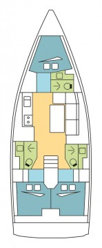 Boat rental Dufour Dufour 390 GL in Propriano on Samboat