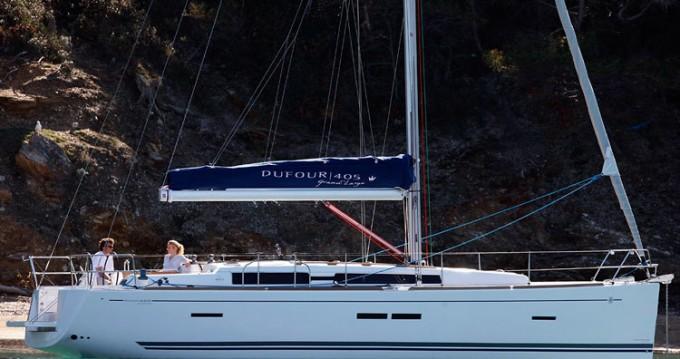 Boat rental La Trinité-sur-Mer cheap Dufour 405 GL