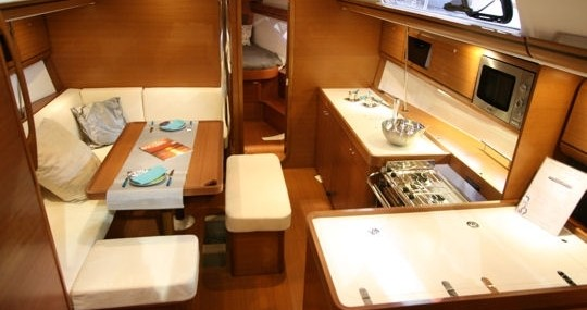 Sailboat for rent Jolly Harbour at the best price