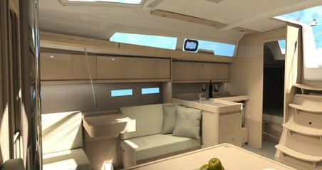 Dufour Dufour 412 Grand Large between personal and professional Naples