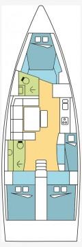 Rental yacht Bas du Fort - Dufour Dufour 430 GL on SamBoat