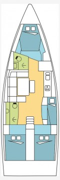 Rental yacht Le Marin - Dufour Dufour 430 GL on SamBoat