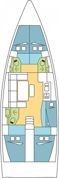 Rental Sailboat in Le Marin - Dufour Dufour 460 Grand Large