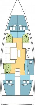 Rental Sailboat in Zaton - Dufour Dufour 460 Grand Large