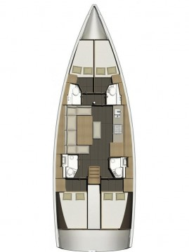 Dufour Dufour 460 Grand Large between personal and professional Ajaccio