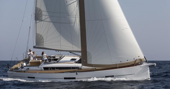 Hire Sailboat with or without skipper Dufour Olbia