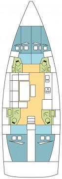 Boat rental Dufour Dufour 460 Grand Large in Seget Donji on Samboat
