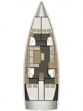 Boat rental Dufour Dufour 460 Grand Large in Porto Lotti on Samboat