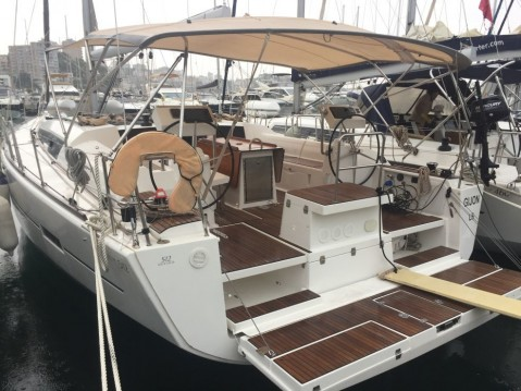 Hire Sailboat with or without skipper Dufour Marina San Miguel