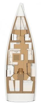 Boat rental Dufour Dufour 520 Grand Large in Kotor on Samboat