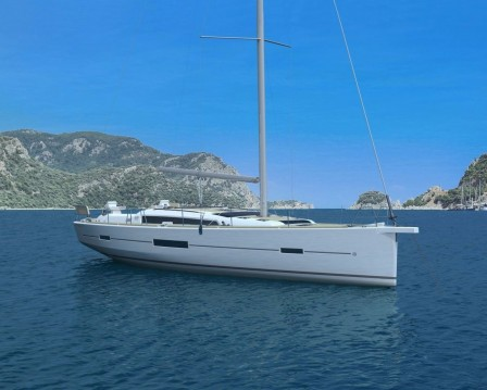 Dufour Dufour 520 Grand Large between personal and professional Le Marin