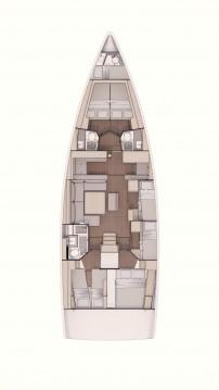 Rental Sailboat in Alimos - Dufour Dufour 530