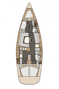 Rental yacht Seget Donji - Elan Impression 45 on SamBoat