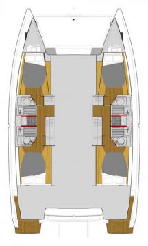 Rental Catamaran in Jolly Harbour - Fountaine Pajot Astrea 42