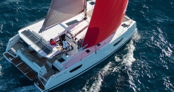 Fountaine Pajot Astrea 42 between personal and professional Alimos
