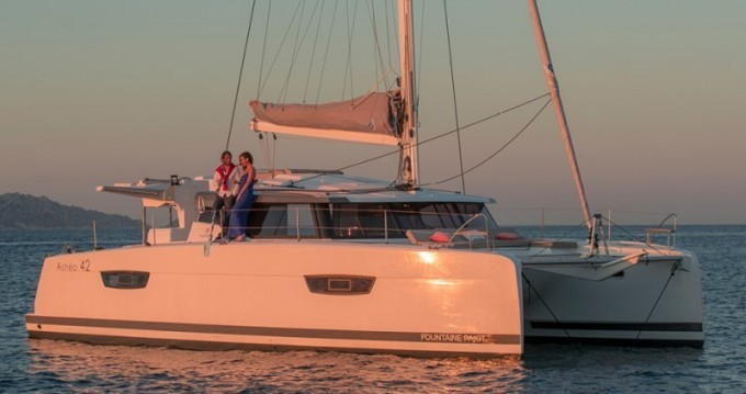 Fountaine Pajot Astrea 42 between personal and professional Saint-Mandrier-sur-Mer