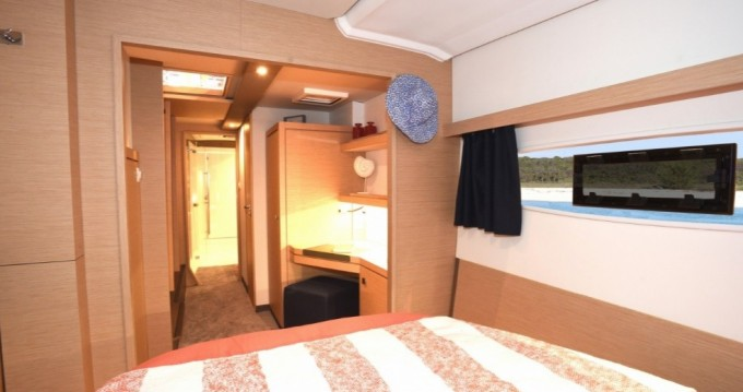 Fountaine Pajot Lucia 40 between personal and professional Gouvia