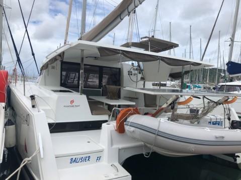 Rental yacht Le Marin - Fountaine Pajot Lucia 40 on SamBoat