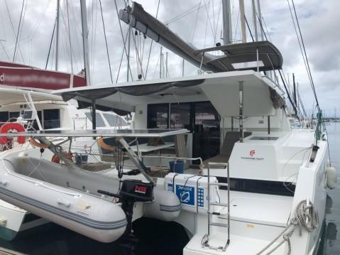Boat rental Le Marin cheap Lucia 40