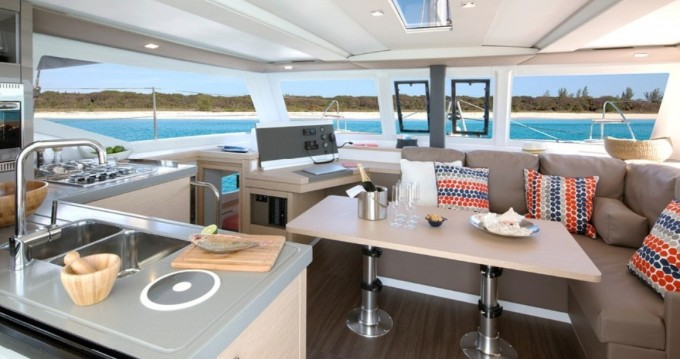Fountaine Pajot Lucia 40 between personal and professional Bas du Fort