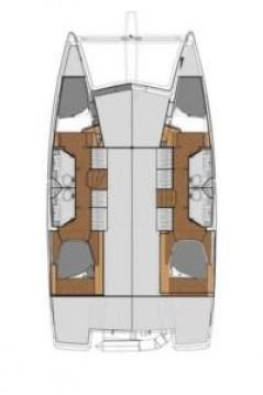 Rental Catamaran in Le Marin - Fountaine Pajot Lucia 40
