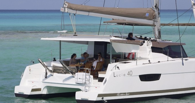 Catamaran for rent Bas du Fort at the best price