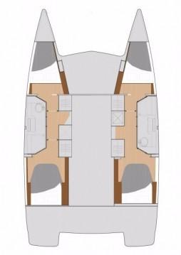 Boat rental Marina di Portorosa cheap Lucia 40