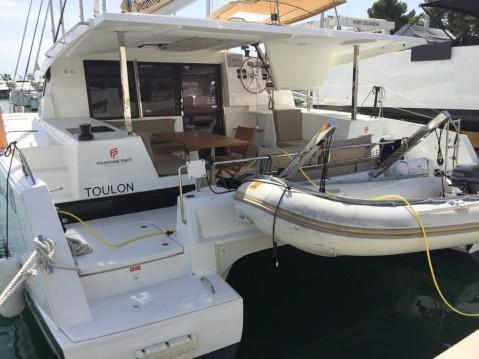 Rental Catamaran in Marina di Portorosa - Fountaine Pajot Lucia 40