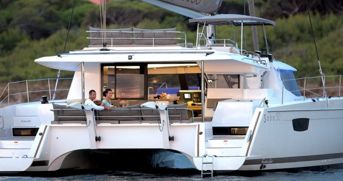 Fountaine Pajot Saba 50 between personal and professional Seget Donji